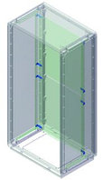 DKC / ДКС 095770921 Комплект для крепления монтажной платы к стойкам, 1 упаковка - 4 кронштейна