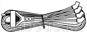 Hyperline KL-FCRD-4F-EU-1.8-BK Кабель питания для вентилятора 120x120x38 мм, 4 разъема под плоские контакты, с