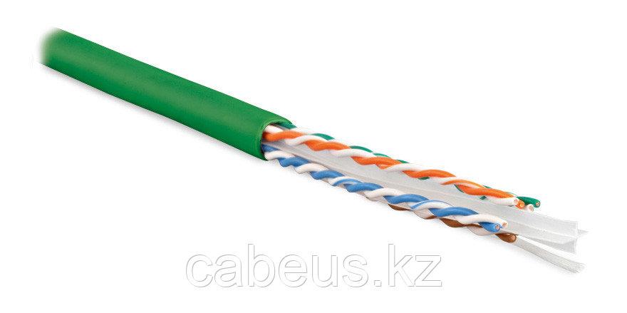 Hyperline UUTP4-C6-S23-IN-LSZH-GN-305 (305 м) Кабель витая пара U/UTP, категория 6, 4 пары (23 AWG),