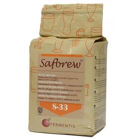 Дрожжи пивные сухие Safbrew S-33 (500 гр.) - верхового брожения
