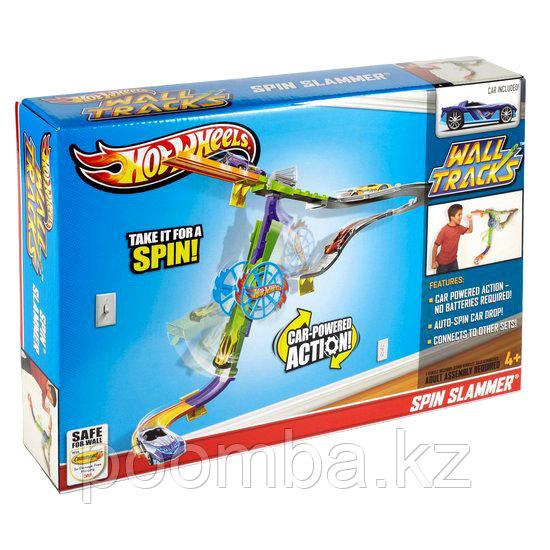 Игровой набор Hot Wheels Супер-гонки серия Настенные Треки. Набор Hot Wheels «Супер-гонки»