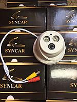Купольная AHD камера видеонаблюдения Syncar SC-808m 1mp-720p