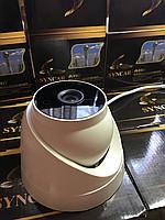 Купольная AHD камера видеонаблюдения Syncar SC-801m 1mp-720p