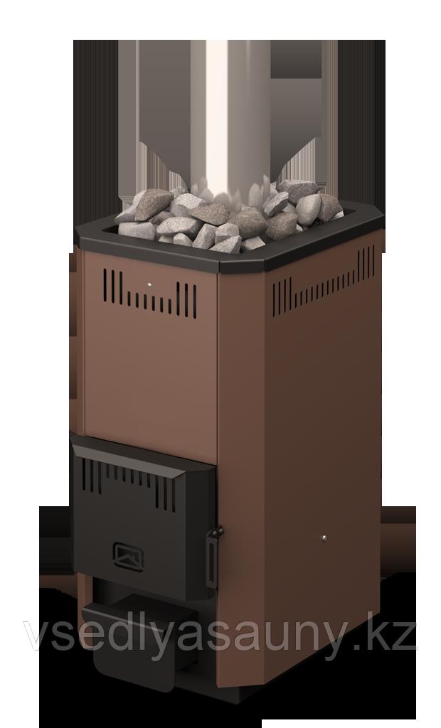 Дровянная банная печь-каменка Тайгинка-16т.Теплодар. - фото 2