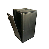 ELEMENT Шкаф напольный 18U, 600*600*901 передняя дверь перфорированная, фото 5