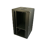 ELEMENT Шкаф напольный 18U, 600*600*901 передняя дверь перфорированная, фото 6