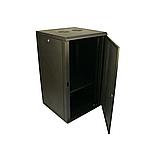 ELEMENT Шкаф напольный 18U, 600*600*901 передняя дверь перфорированная, фото 9