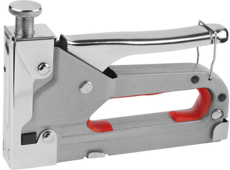 (3143) Степлер DEXX металлический регулируемый, тип 53, 4-14мм