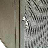 ELEMENT Шкаф напольный 21U, 600*600*1000 передняя дверь перфорированная, фото 2
