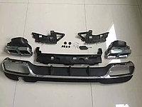 Задний диффузор AMG с насадками E63 на Mercedes-Benz E-class W212 РЕСТАЙЛИНГ( с AMG пакетом)