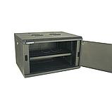 ELEMENT Шкаф телекоммуникационный настенный антивандальный 12U,600*450*635, фото 2