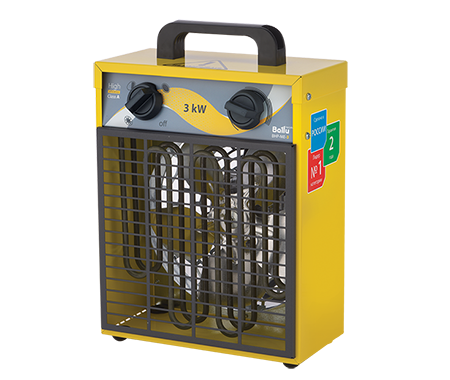 Тепловентилятор квадратный BALLU BHP-ME-3
