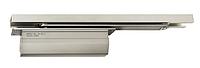 Скрытый дверной доводчик без фиксатора DCL 33, серебристый, фото 1
