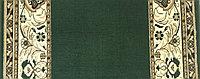 Кремлёвская дорожка BCF GOLD Зелёная ширина 1,2