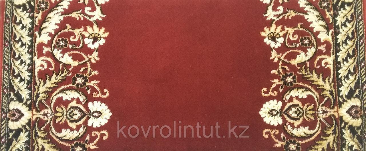 Кремлёвская дорожка Heat Set  LOTOS Красная  ширина 1,5