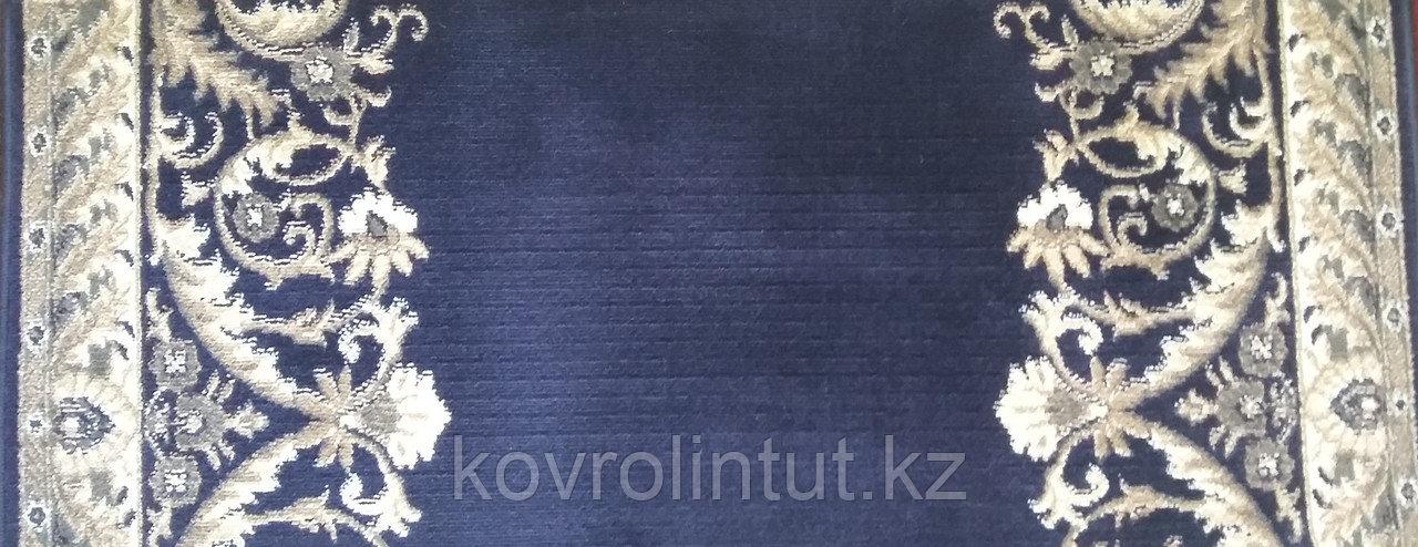 Кремлёвская дорожка Heat Set  LOTOS  Синяя  ширина 1,5