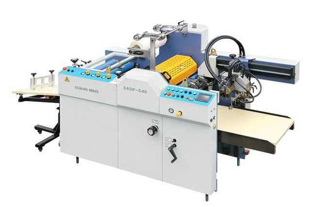 SADF 540 - автоматичексий промышленный ламинатор