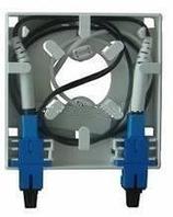 Оптическая розетка абонентская FTTH (2 порта), фото 1