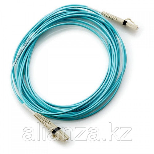 Кабель HP Multi-Mode Fiber Optic Cable LC(M)-LC(M) 15m AJ837A