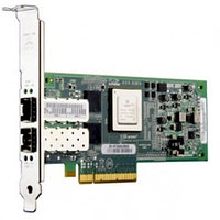 Qlogic Dual-port 10GbE-to-PCI Express Converged Network Adapter for use with SFP+ direct attach copper twinax cables QLE8152-CU-CK