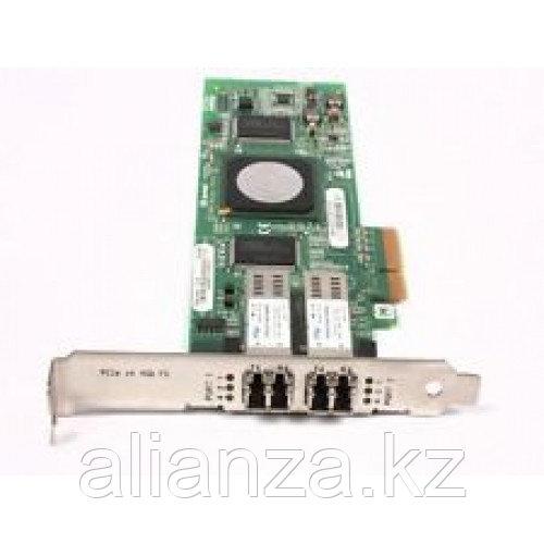 Сетевой Адаптер Network Appliance (NetApp) (Qlogic) QLE2462 PX2510401 2х4Гбит/сек Dual Port Fiber Channel HBA LP PCI-E4x 111-00204+A1