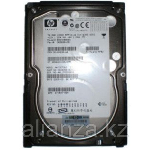 72.8-GB U320 SCSI HP 10K 365695-001