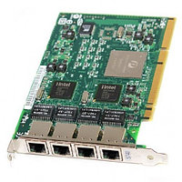 Сетевая Карта IBM Pro/1000 GT Quad Port Server Adapter i82546GB 4х1Гбит/сек 4xRJ45 PCI-X 73P5219