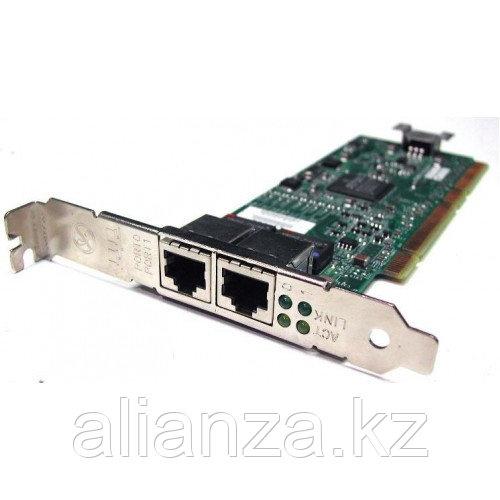 Сетевая Карта IBM NetXtreme 1000T Dual Port Ethernet Adapter (Broadcom) BCM95704CA40 BCM5704CKRB Dual Port 2х1Гбит/сек PCI/PCI-X 73P4209