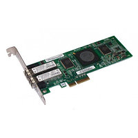 Сетевой Адаптер IBM (Qlogic) QLE2462 PX2510401 2х4Гбит/сек Dual Port Fiber Channel HBA LP PCI-E4x 39R6593