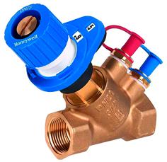 Клапаны балансировочные honeywell с функцией измерения Kombi-2-plus V5032B