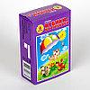 Пластмассовые кубики-картинки «Солнышко-2», 6 штук