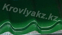 Металлочерепица Монтеррей (RaLL 6005 глянец - зеленый), фото 1