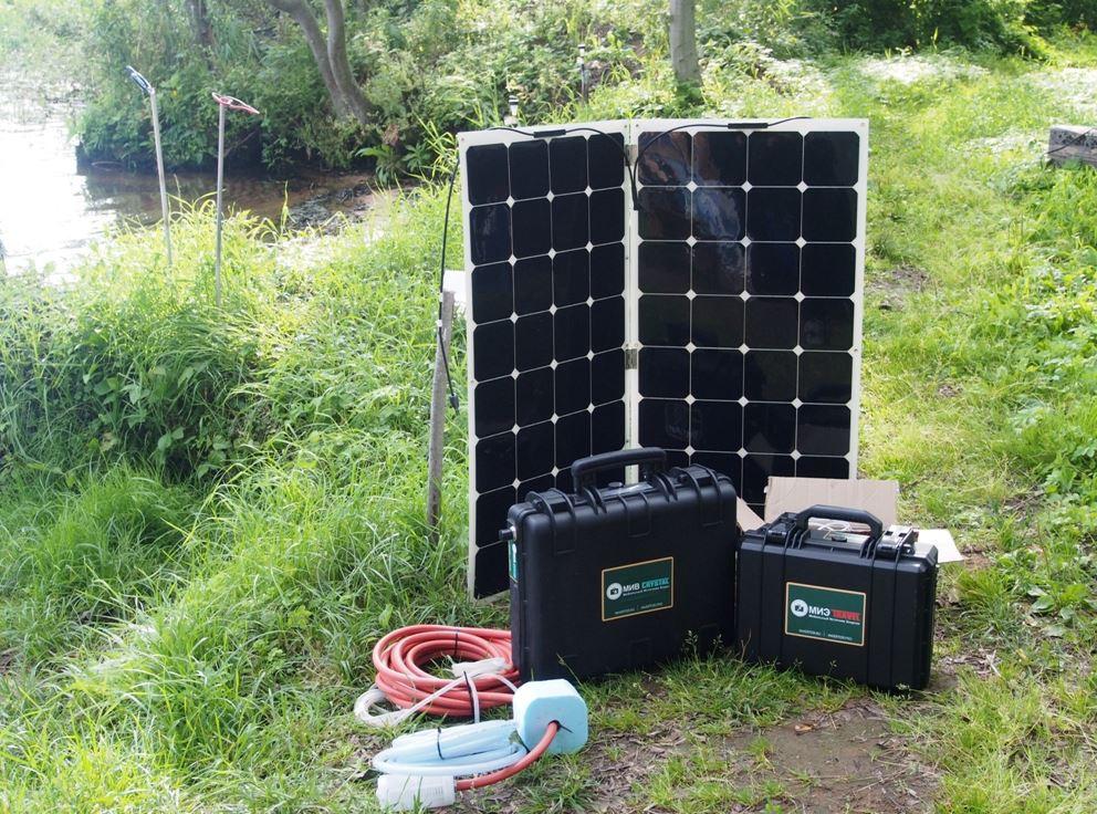 Мобильные источники Solar Travel 200 Вт