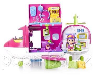 Игровой набор с мини куклой Самолет Пинипон