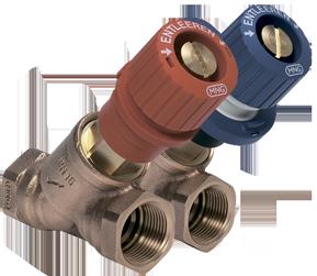 Балансировочные клапаны Kombi-3-plus (V5000, V5010)