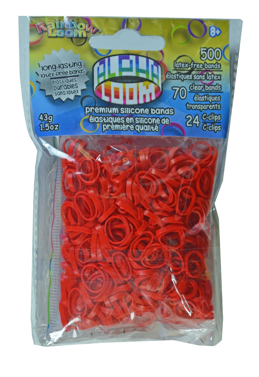 """Loom 3197 Alpha Loom Набор резиночек для плетения """"Альфа-Лум"""" (красный)"""
