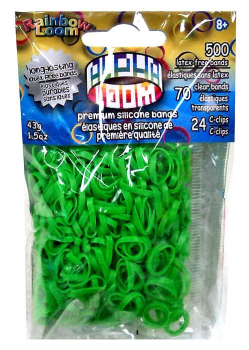 """Loom 3340 Alpha Loom Набор резиночек для плетения """"Альфа-Лум"""" (зеленый)"""