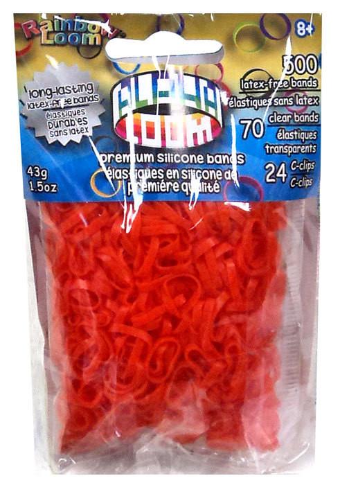 """Loom 3296 Alpha Loom Набор резиночек для плетения """"Альфа-Лум"""" (оранжевый)"""
