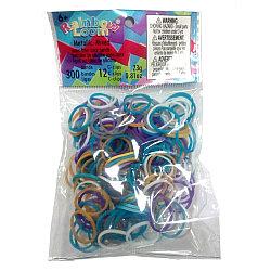 """LOOM 1254 Резиночки для плетения браслетов, """"Металлик"""" микс"""