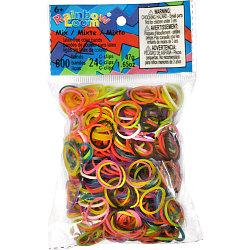 LOOM 5011 Резиночки для плетения браслетов, микс