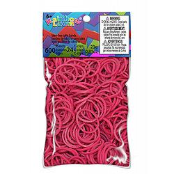 LOOM 5219 Резиночки для плетения браслетов, фуксия