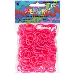 LOOM 5370 Резиночки для плетения браслетов, неоновый розовый