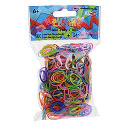 """LOOM 5639 Резиночки для плетения браслетов, """"Гелевые"""" микс"""