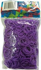 LOOM 5318 Резиночки для плетения браслетов, сиреневые