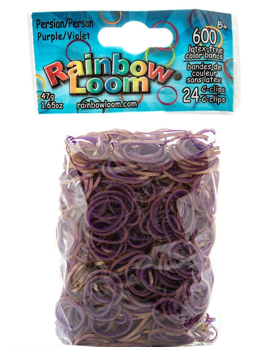 """LOOM 1049 Набор резинок """"Персидская коллекция"""" для браслетов, фиолетовый"""