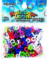 """LOOM Rainbow Loom Набор """"Клипсы"""""""
