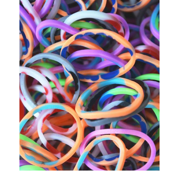 LOOM 5820 Комплект резиночек для пелетения Tie-Dye, микс