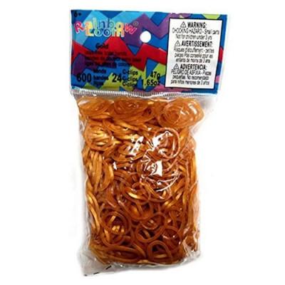 LOOM 0714 Набор резинок для плетения, золотистые