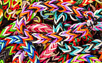 Rainbow Loom, Ризиночки для плетения