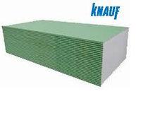 Гипсокартон Knauf (Кнауф) влагостойкий стенавой 12,5 мм, фото 1